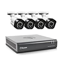 Swann High Definition Security System, 8 Channel DVR with 4 x HD 1MP Pro-T835