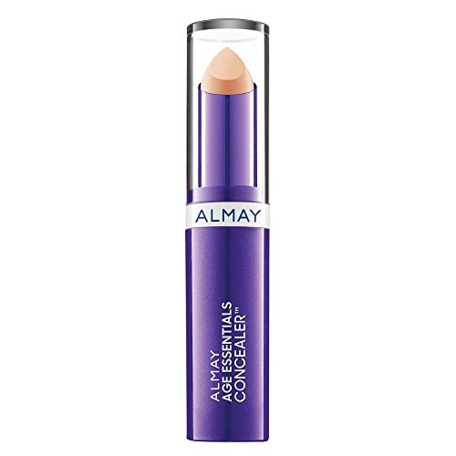 Almay Age Essentials Concealer, 100 Light (Pack of 2), Conceals Age Spots and Under-Eye Circles For Anti-Aging Effects, SPF 20, 0.13 oz.