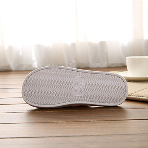 3 Femmes Hiver D'intérieur Hommes Chaussons Et Automne Femme Confortables Bois Soft Mémoire Lavable Maison Antiglisse 45 Bottom Coton Hibote Plancher Couple Mousse Chaud Eu36 gqF58Wq