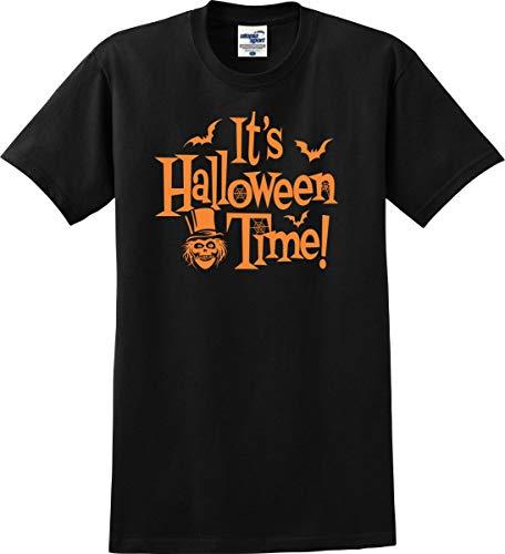 Disney Park Visit It's Halloween Time! T-Shirt (S-5X) (XXXXX-Large, Black) -