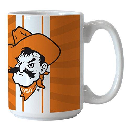 Ncaa Oklahoma State Cowboys Glass - NCAA Oklahoma State Cowboys Burst Mug, 15-ounce