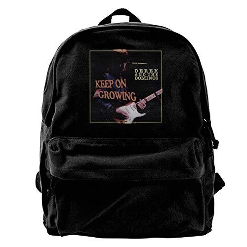 Derek And The Dominos Keep On Growing Unisex,Lightweight,durable,school Backpack,multi-purpose Backpack,travel Backpack