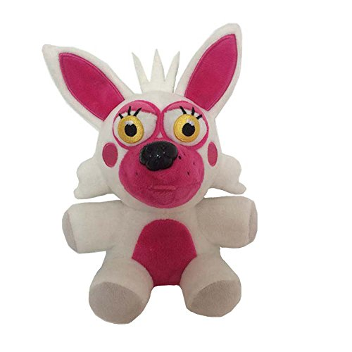 Soft and Beautiful New Foxy Stuffed Animal Plush Toy Doll (Nightmare Fredbear Costume)