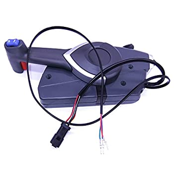 Image of 5006180 Boat Motor Side Mount Remote Control Box for Johnson Evinrude OMC BRP Outboard Engine Boat Engine Parts