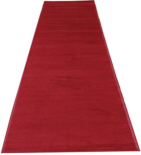 Amazon Com Mybecca Persian Red Carpet Aisle Runner 2 X 10 Ft 1 8ft X 10 Ft 21 6in X 120in Color Dark Red High Class Vip Quality For Parties Hollywood Feel Events Wedding And