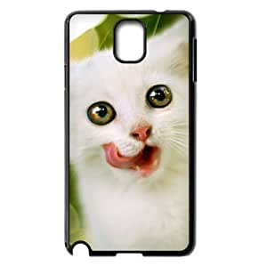 Diy Cute Lovely Cat Phone Case for samsung galaxy note 3 Black Shell Phone JFLIFE(TM) [Pattern-1] by mcsharks