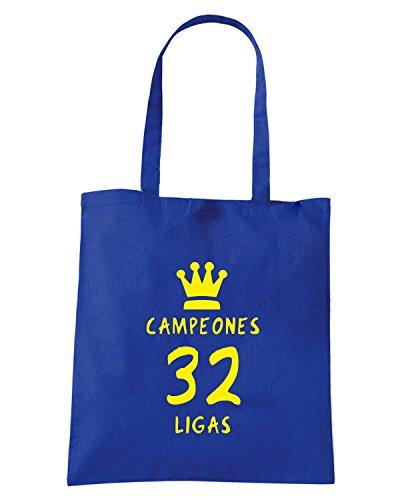 T-Shirtshock - Bolsa para la compra WC0536 Real Madrid Campeones Azul Real