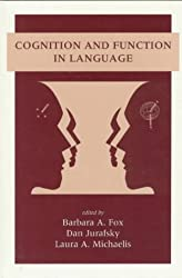 Cognition and Function in Language