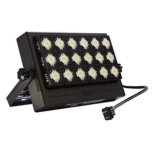 SANSI 100W 10000lm Outdoor LED Security Floodlight
