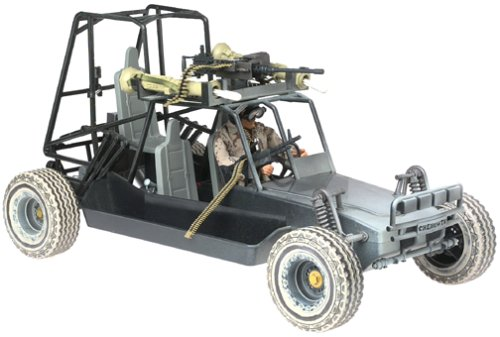 GI Joe Chenowth Desert Light Strike Vehicle with Exclusive G.I. Joe Action Figure
