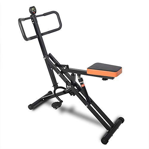 FreeTrade Total Crunch Exercise Machine,Health Rider,Horse Riding Machine,Total Crunch Full Body Fitness Horse Riding Exerciser Trainer with Monitor