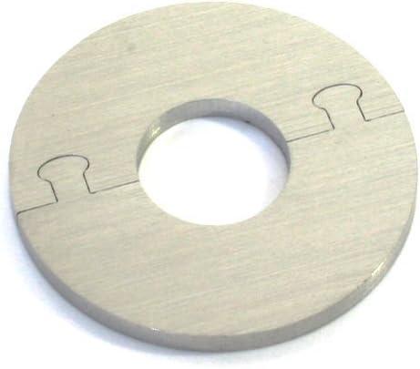 Exclusif Acier Inox Rond Radiateur Rosette 15 mm de diam/ètre de tuyau Single pour Chauffage /Ø 12-28 MM