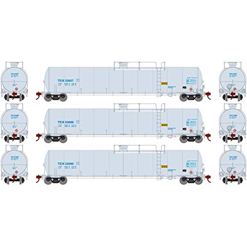 Athearn HO 33 900-Gallon LPG Tank Late TEIX (3)