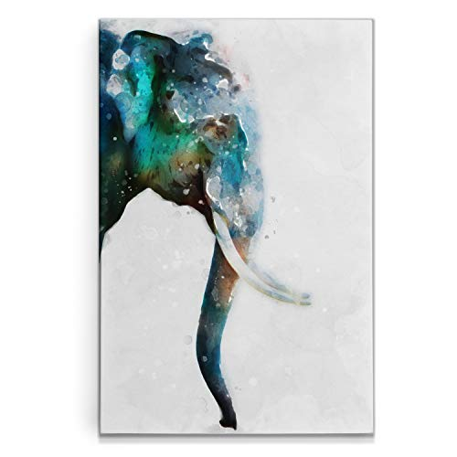 Renditions Gallery Watercolor Elephant Turquoise product image