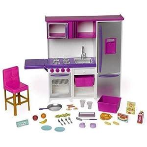 My life as kitchen doll playset kitchenette for Kitchen set toys amazon