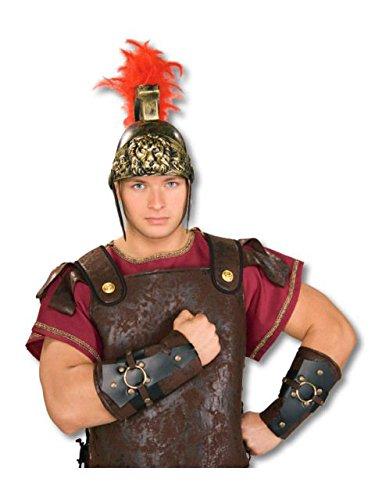 Rubie's Costume Co Roman Arm Guards Costume Accessory ()