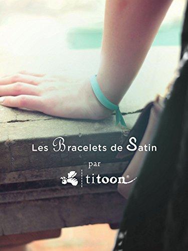 titoon® - Bracelet de satin - Petit amour en préparation - Rose - Cadeau future maman, annonce grossesse, femme enceinte