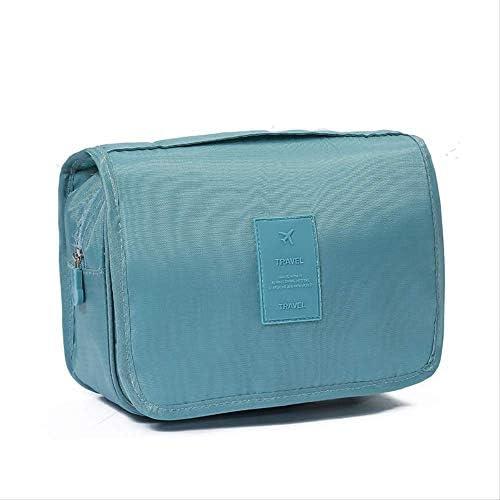 ホック式化粧品収納バッグ、折りたたみ式ハンドライフ整理洗面バッグ、24*9.5*19cm