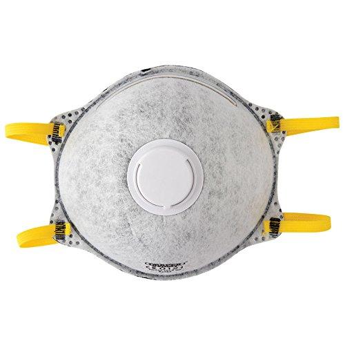 Draper 82484 FFP2 NR soldadura má scara de polvo –  gris (Pack de 3), gris, 82485