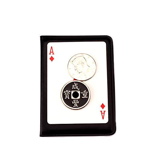 (Enjoyer Lethal Tender Coin Magic Tricks Coins Magic Gimmick Magician Accessories Close Up Magic Props Illusions)