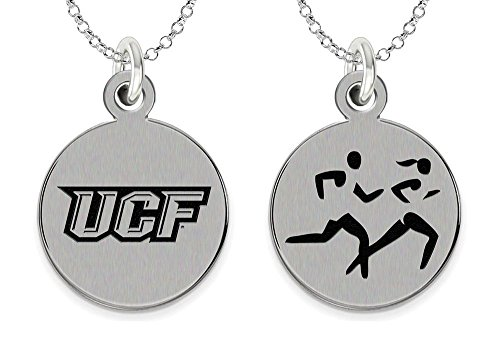 College Jewelry Central Florida Knights Cross Country Charm