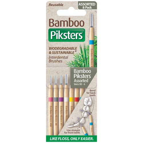 Piksters Bamboo Assorted 1 Pack 8