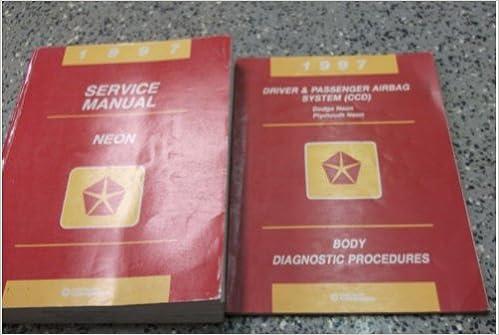 dodge neon 1997 service repair manual