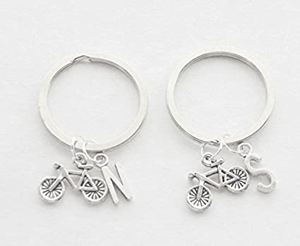 Bicicleta clave anillos 2 mejores amigos llavero ciclista ...