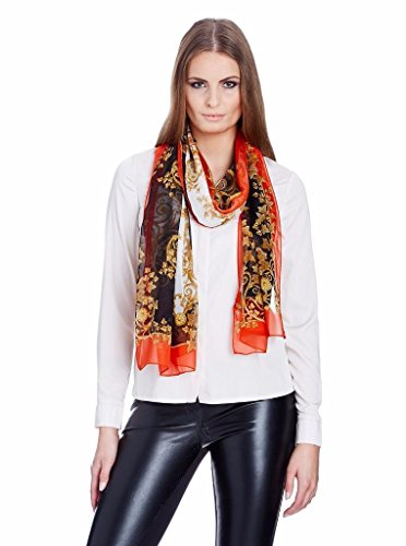 Versace Women Multi Color Silk Scarf, One Size by Versace