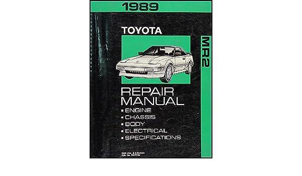 1989 toyota mr2 repair manual a good owner manual example u2022 rh usermanualhub today 1992 Toyota MR2 1998 Toyota MR2