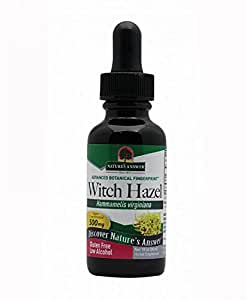Nature's Answer Witch Hazel Leaf and Twig with Organic Alcohol, 1-Fluid Ounce