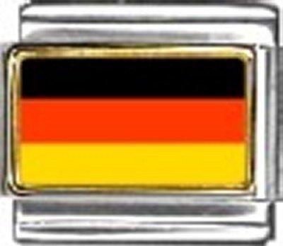 Germany Photo Flag Italian Charm Bracelet Jewelry - Italian New Charm 9mm Photo
