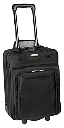 Targus Corporate Traveler Vertical Roller Case, Accommodates Laptops up to 17 Inches (CUCT02R)