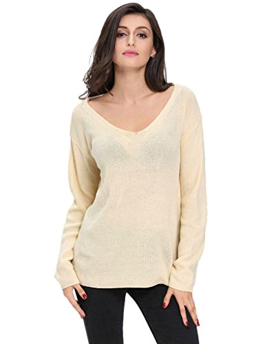 VVEEL Womens Casual Pullover Sweater product image