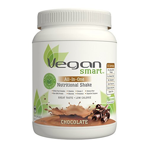 Vegan Smart All-In-One Nutritional Shake Chocolate Naturade Products 24.34 oz Powder by Naturade