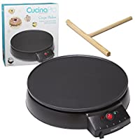 CucinaPro 1448 12-Inch Griddle and Crepe Maker