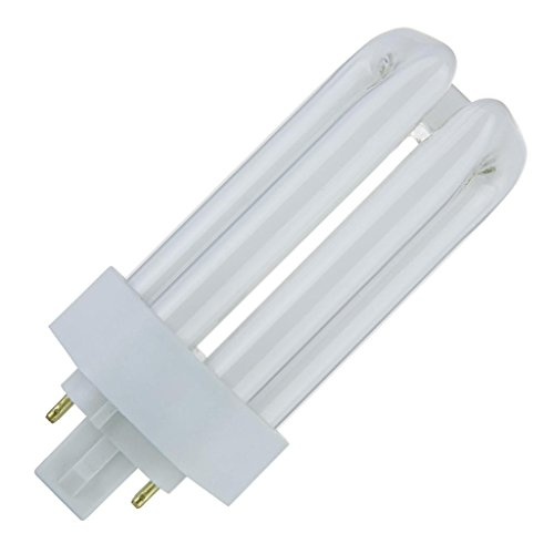 (Sunlite PLT18/E/SP27K 18-Watt Compact Fluorescent Plug-In 4-Pin Light Bulb, 2700K Color)