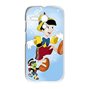 Personalized Durable Cases Motorola Moto G Phone Case White Kirwe Pinocchio Protection Cover