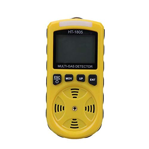 Hydrogen Sulfide Monitors (A4 in 1 Handheld Portable Automotive Mini Oxygen Meter O2 Ga)