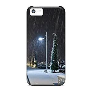 [uLMSWYI8247LdibL]premium Phone Case For Iphone 5c/ Winter Snow Park City Tpu Case Cover