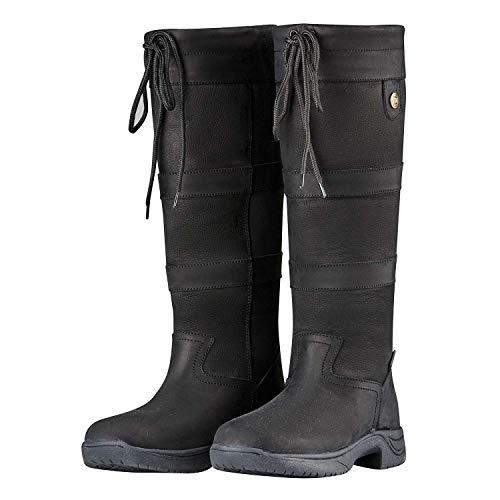 Dublin River Boots III Black Ladies 6.5 XWide (Shops Dublin Three)