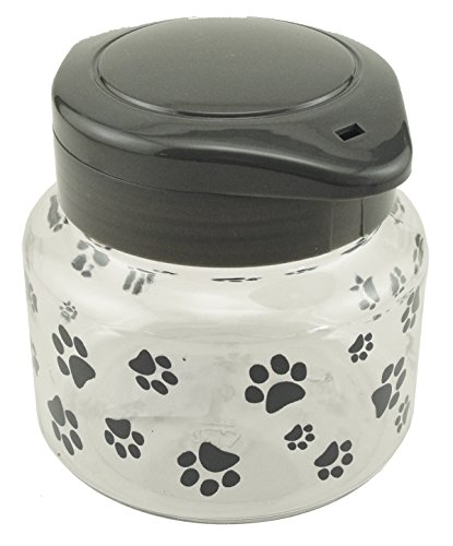 Small Dog Treat Jar (Lixit Dog Treat Jar, 44-Ounce)