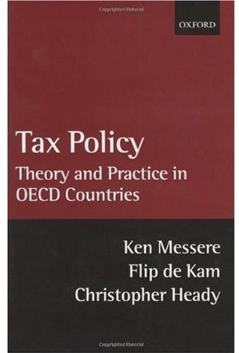 Download Tax Policy: Theory and Practice in OECD Countries Pdf