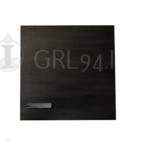 GRL94.IT Pensile Bagno Cubo colore Rovere Scuro