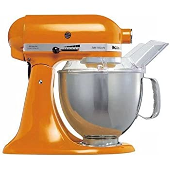 Amazon Com Kitchenaid Artisan 5ksm150psetg Tangerine 220