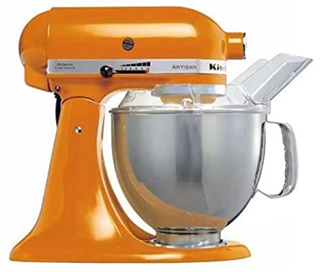 KitchenAid 5KSM150PSETG4 Artisan Robot da Cucina, colore: Arancione ...