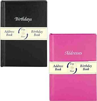 birthday and address book