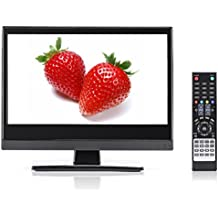 Small TV - Perfect Kitchen TV – 15.6 inch LED TV – Watch HDTV Anywhere – For Kitchen tv, RV tv, Office tv & more– FREE HD Local Channels – Small HD TV - USB, HDMI, RCA, RF & more