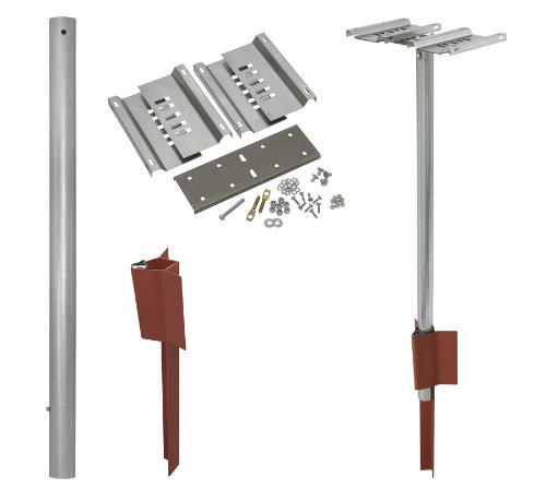 Tapco 20-D V-Loc Double Mailbox Support System Kit by TAPCO (Traffic & Parking Control Co., Inc.)