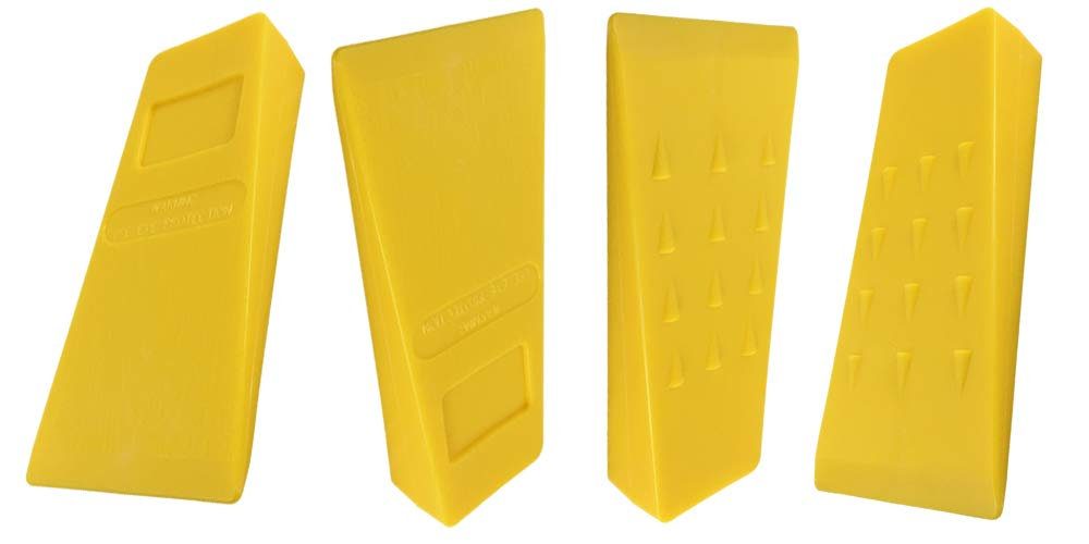 Parts 4 Outdoor 4 Pack of 5.5'' Tree WEDGEUSA Made ABS Logging Bucking Falling Felling Wedge